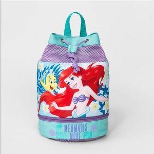 Toddler Girls' Disney Ariel Swim Barrel Backpack